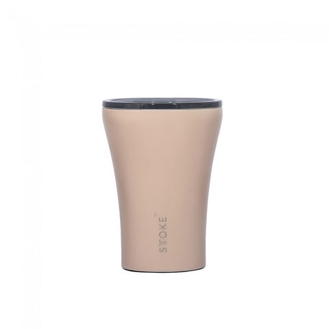 Sttoke - Reusable 8oz 'Ivory Chai' Coffee Cup