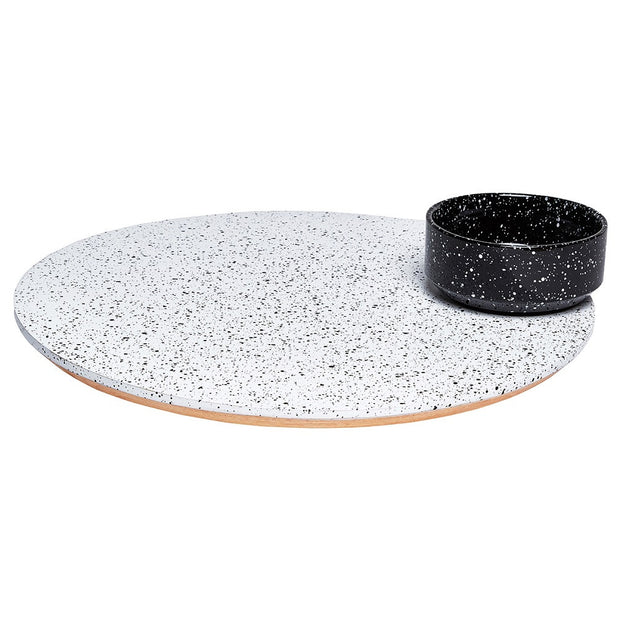 Doiy - Eclipse Rotating Platter with Bowl