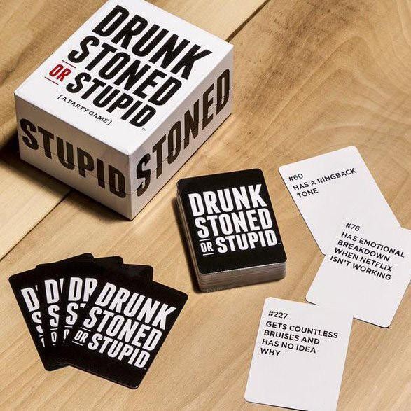 Drunk, Stoned, Stupid - Party Game-Adult Games-Other-OPUS Design