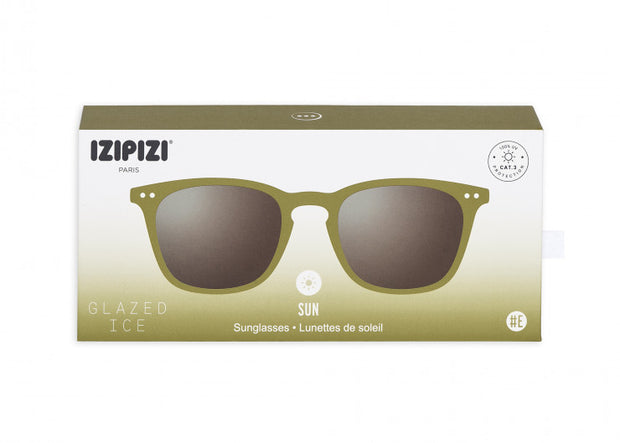 Izipizi - Sun Collection E - Glazed Ice - Bottle Green