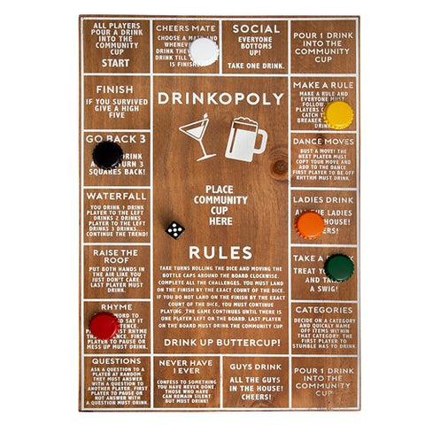 Refinery & Co - Game Drinkopoly