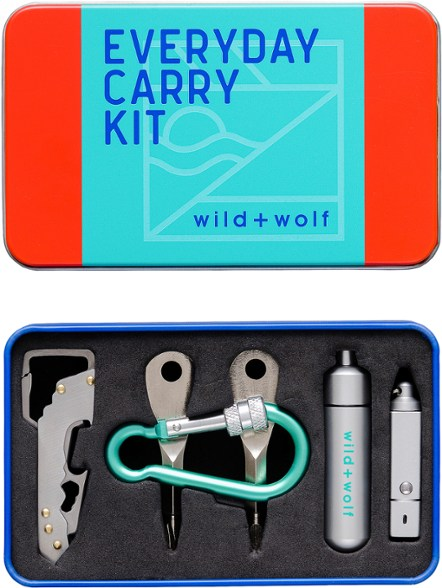 Wild + Wolf - Everyday Carry Keychain Tool Set