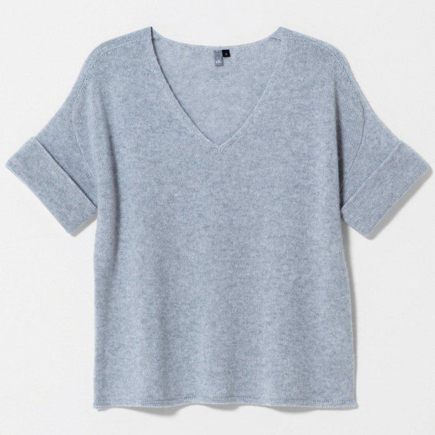 Elk Solace Grey Eldur Cashmere Sweater-Tops-Elk-12-OPUS Design