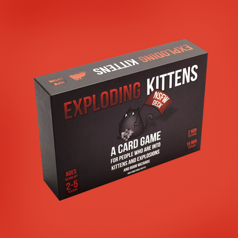 Exploding Kittens Nsfw Edition (Adults Only)-Adult Games-Other-OPUS Design