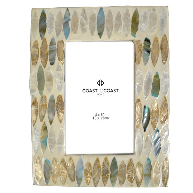 Coast to Coast Home - Eva Inlay Ivory Frame