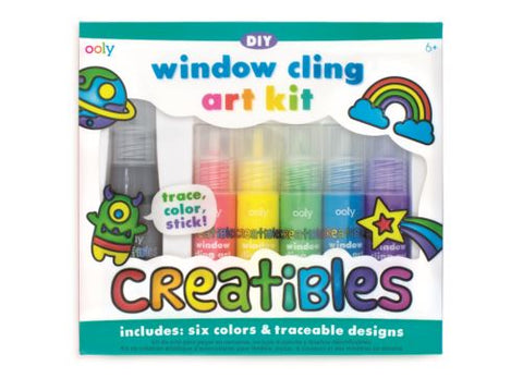 Ooly Creatibles - Window Cling Art Kit