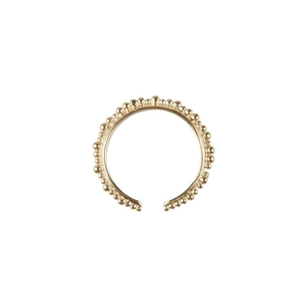 Fairley Alexa Crown Ring - Gold-Rings-Fairley-OPUS Design