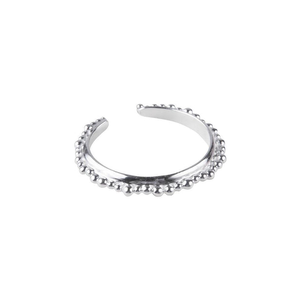 Fairley Alexa Crown Ring - Silver-Rings-Fairley-OPUS Design