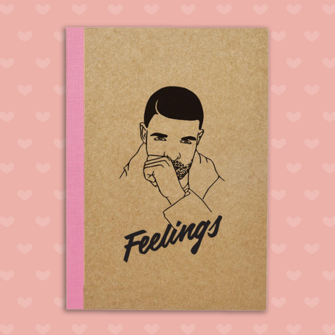 Famous Flames Drizzy Journal-Notebooks-Famous Flames-OPUS Design