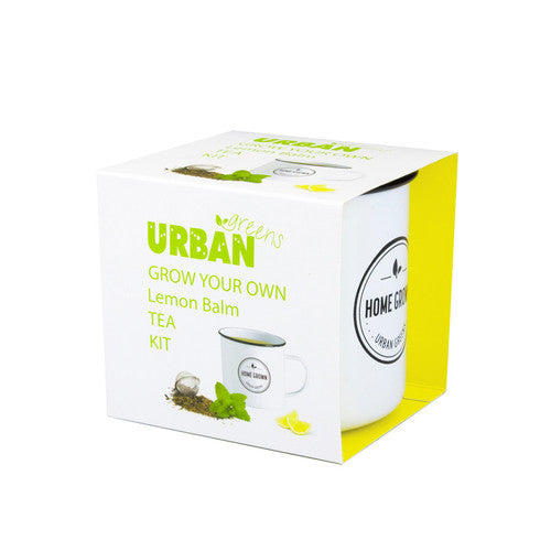 Urban Greens: Grow Your Own Lemon Balm Tea Kit