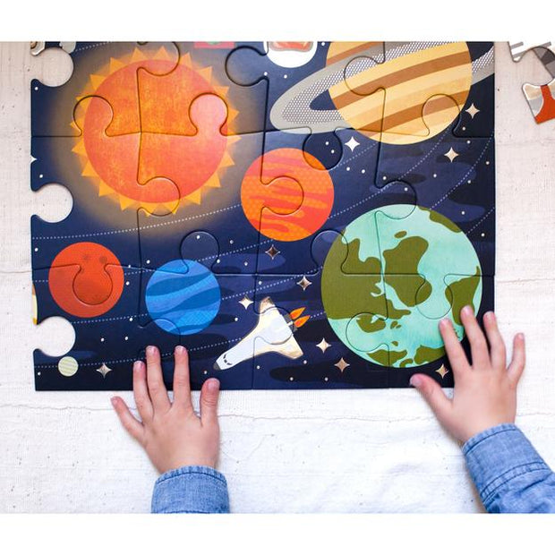 Petit Collage - Outer Space Floor Puzzle