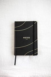 Frank Stationery Lined Notebook-Notebooks-Frank Stationery-black-OPUS Design