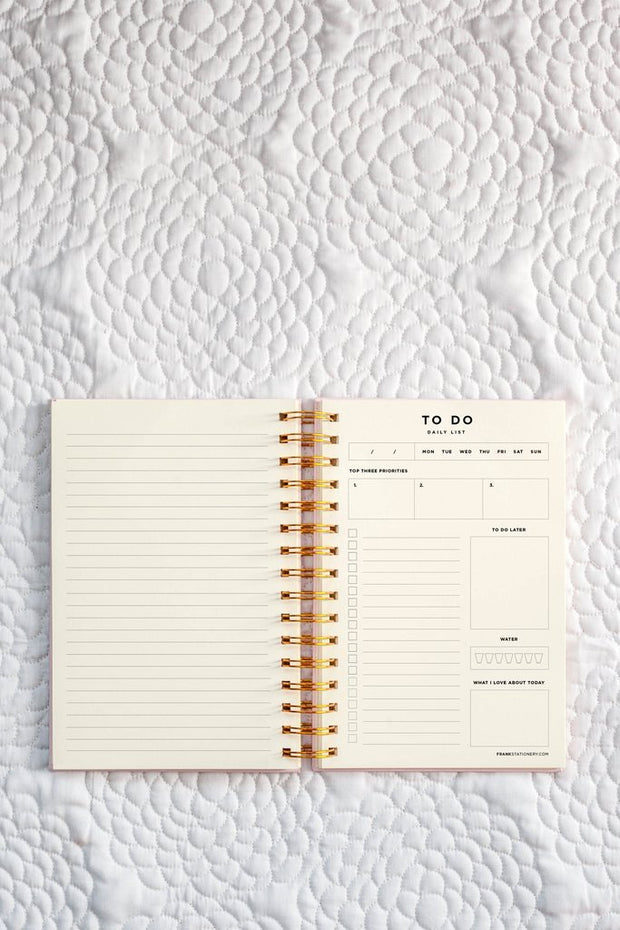 Frank Stationery To Do | Daily List & Notes-Notebooks-Frank Stationery-pink-OPUS Design