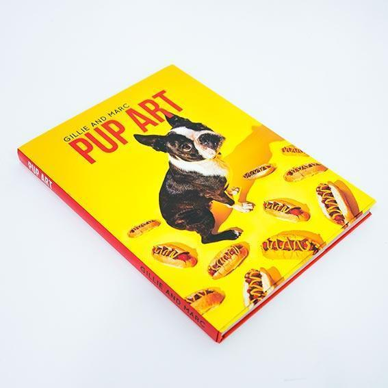 Gillie & Marc Pup Art Book-Lifestyle Books-Gillie & Marc Art-OPUS Design