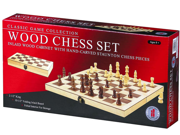 "Chess - 10.5"" Wood Set"