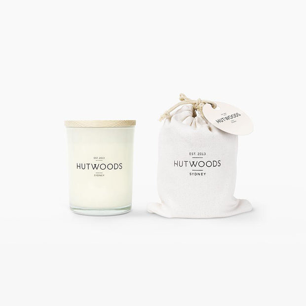 Hutwoods - Champagne & Strawberries 125g Candle