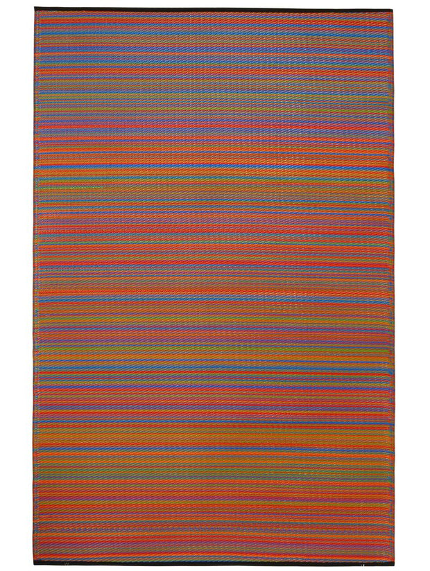 Cancun Multicolour Recycled Plastic Rug