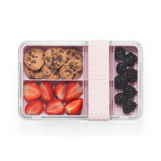 Bodum - Bistro Lunch Box with Cutlery - Strawberry
