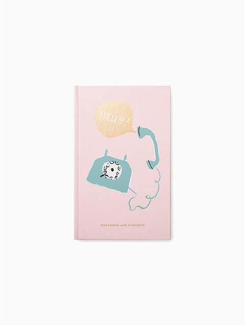 Kate Spade Hello Address Book-Notebooks-Kate Spade-OPUS Design