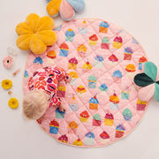 Kip & Co - Quilted Baby Playmat - Cupcakes