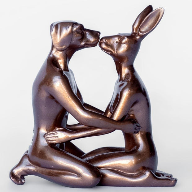 Gillie And Marc - They fell in love over and over again - Bronze Metallic