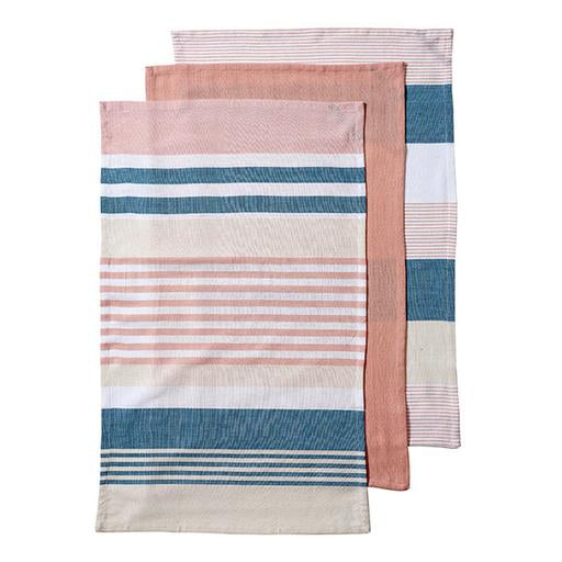 Ladelle - Connor Assorted 3pk Kitchen Towel - Peach