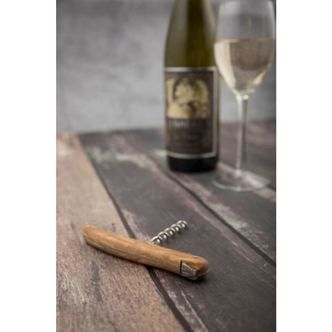 André Verdier - Debutant Bottle Opener & Corkscrew Set Olive Wood
