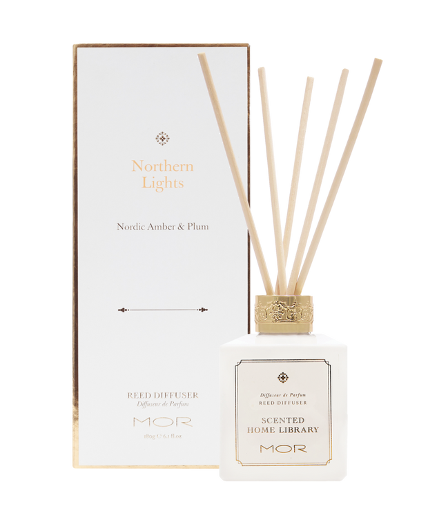 MOR - Scented Home Library Northern Lights Reed Diffuser