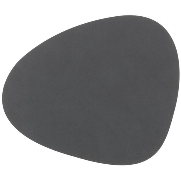 LIND DNA - Table Mat Curve Large - Nupo Anthracite