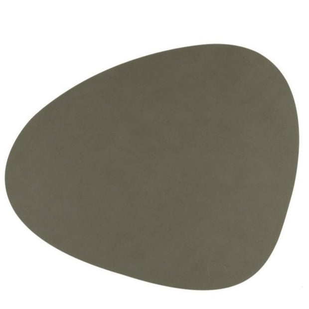 LIND DNA - Table Mat Curve Large - Nupo Army Green