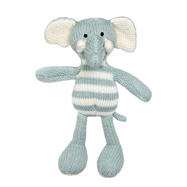 Lily & George - Charlie Stripey Elephant Rattle