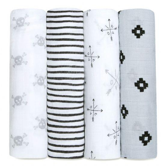 Love Struck Swaddles 4 Pack-Throws & Blankets-Other-OPUS Design