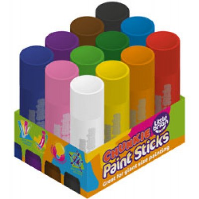 Little Brian Chunkie Paint Sticks (12 pieces)