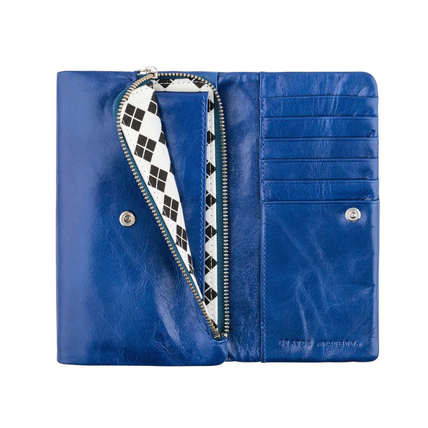 Status Anxiety - Audrey Wallet: Royal Blue