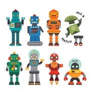 Magnetic Tin Robots
