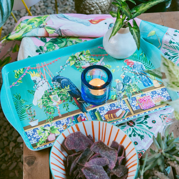 La La Land - Tropical Abode Serving Platter