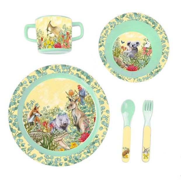 La La Land : Love From Down Under Children's Melamine Set