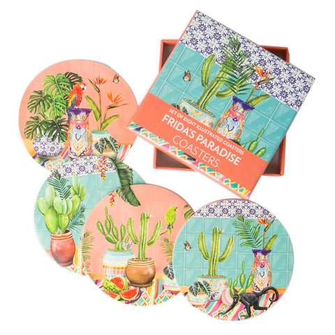 La La Land : Frida's Paradise Coasters (Set of 8)
