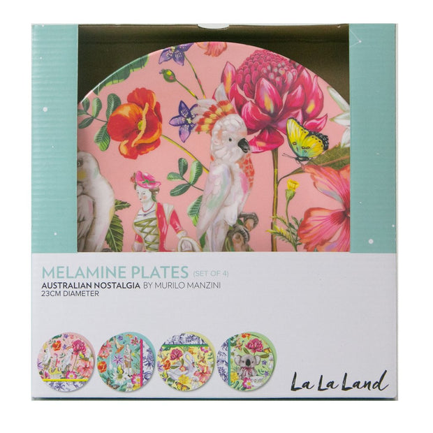 La La Land - Australian Nostalgia Patch Plate Set