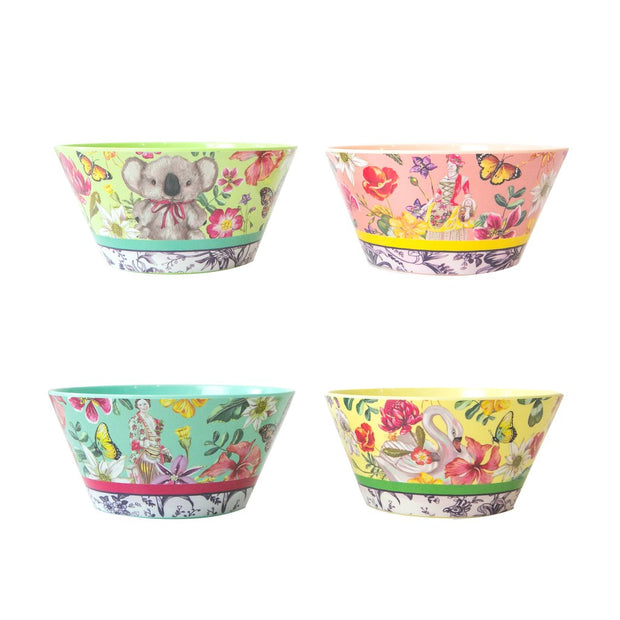 La La Land -  Australian Nostalgia Patch Bowl Set