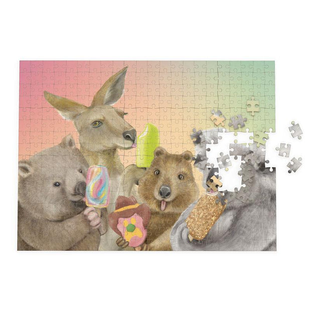La La Land Ice Cream Critters Puzzle