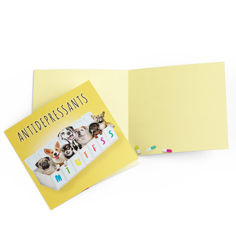 Antidepressants - Greeting Card