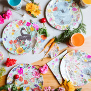 La La Land - Secret Garden Plate Set