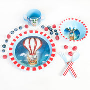 Children's Melamine Set Hot Air Balloon