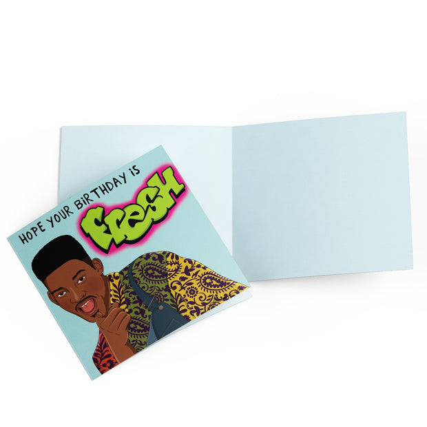 Fresh Birthday - Birthday Card