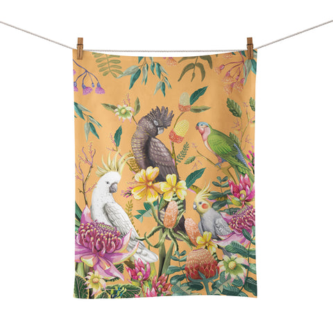 La La Land - Tea Towel Floral Paradiso