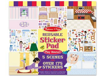 Reusable Sticker Pad - Play House