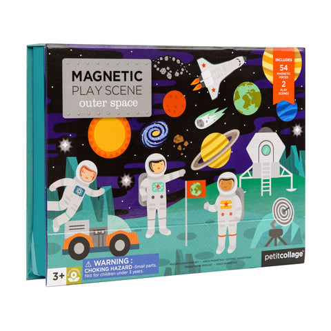 Petit Collage - Outer Space Magnetic Play Scene
