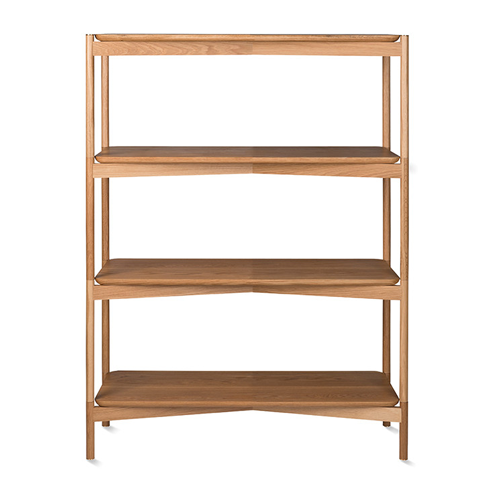 Natural Oak Shelving Unit-Shelving-Other-OPUS Design