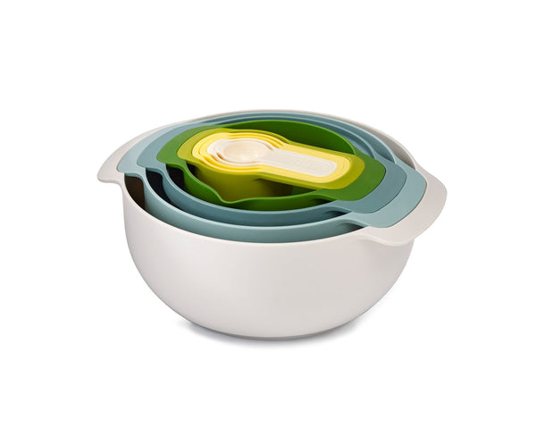 Joseph Joseph - Nest 9 Plus Food Prep - Opal